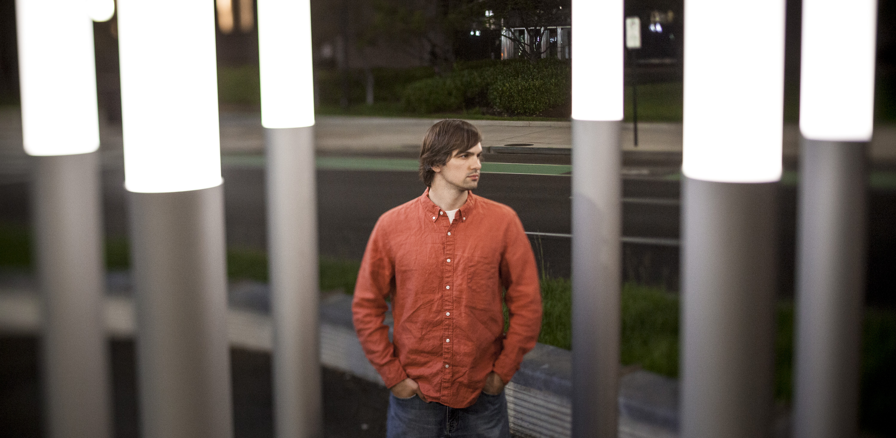 Portraits of Greg Wlosinski and Lindsay King in Pentagon City, Arlington, VA, May 18, 2014.