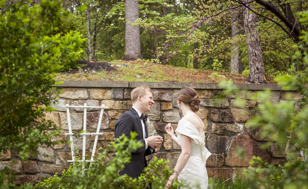 Rainy Day - Maryland Manor Wedding