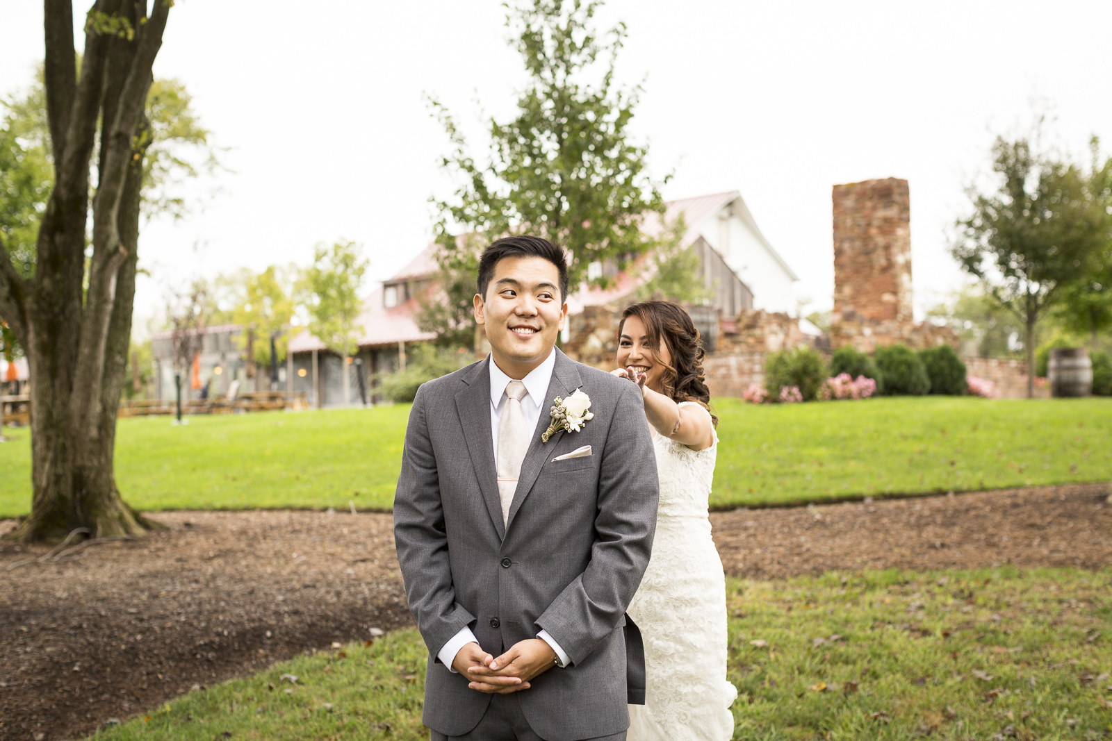 The wedding of Contessa Crisostomo and Will Jin at the Winery at Bull Run in Centreville, Virginia. October 4, 2015.