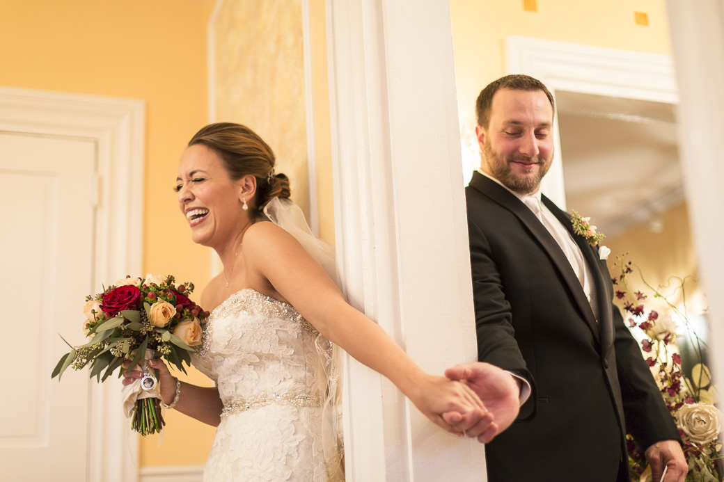 The wedding of Krista Boyd and Matt Wolfe at the Chestnut Hill Bed and Breakfast in Orange, VA, November 7, 2015.