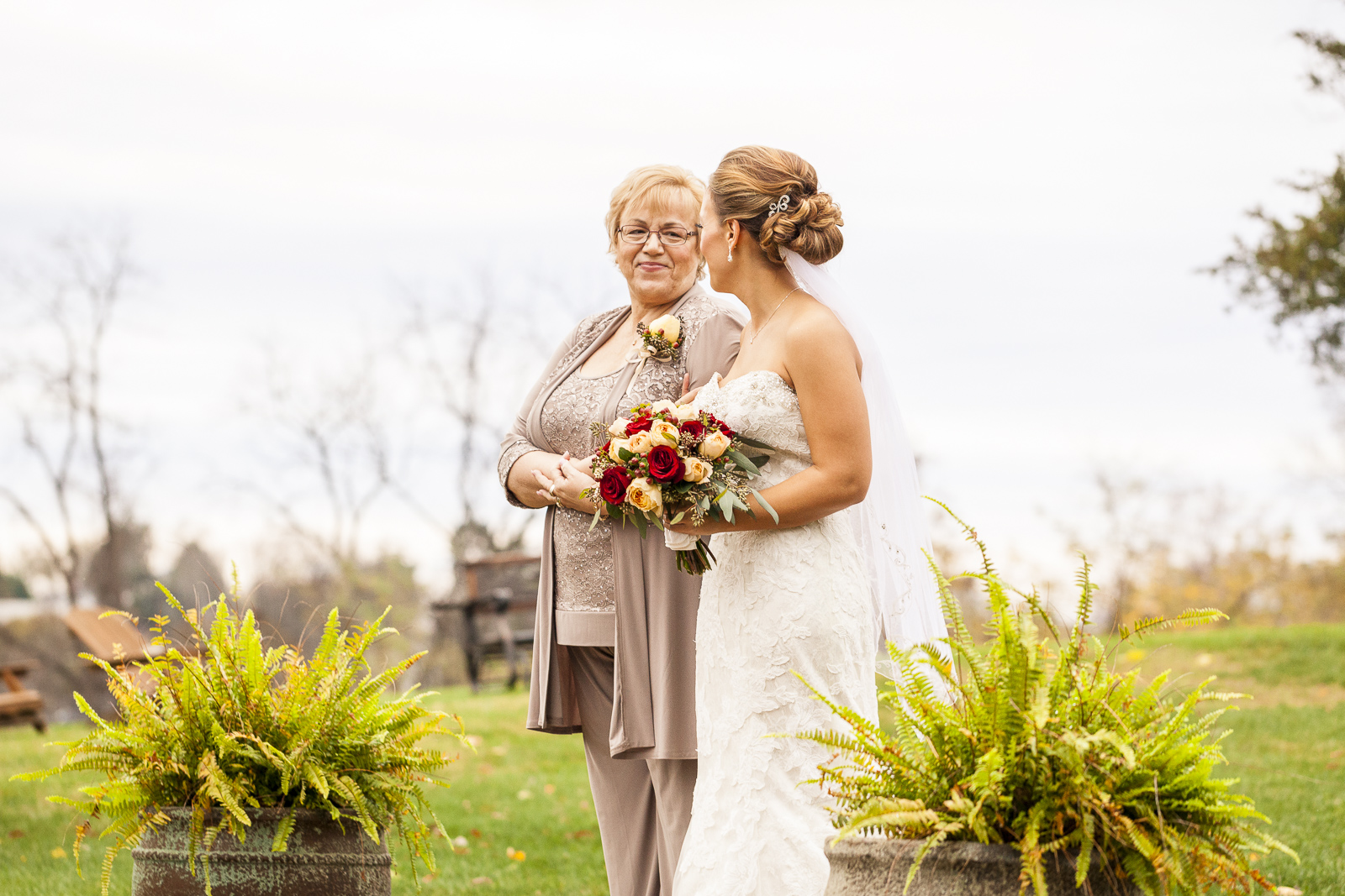 The wedding of Krista Boyd and Matt Wolfe at the Chestnut Hill Bed and Breakfast in Orange, VA, November 7, 2015.©Lindsay King Photography/2015