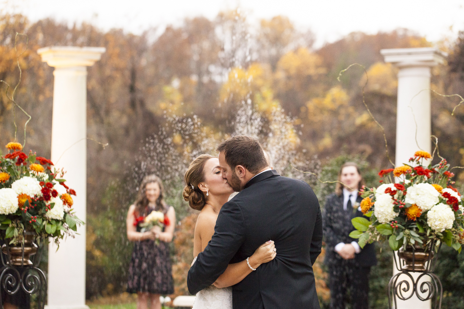 The wedding of Krista Boyd and Matt Wolfe at the Chestnut Hill Bed and Breakfast in Orange, VA, November 7, 2015. ©Lindsay King Photography/2015