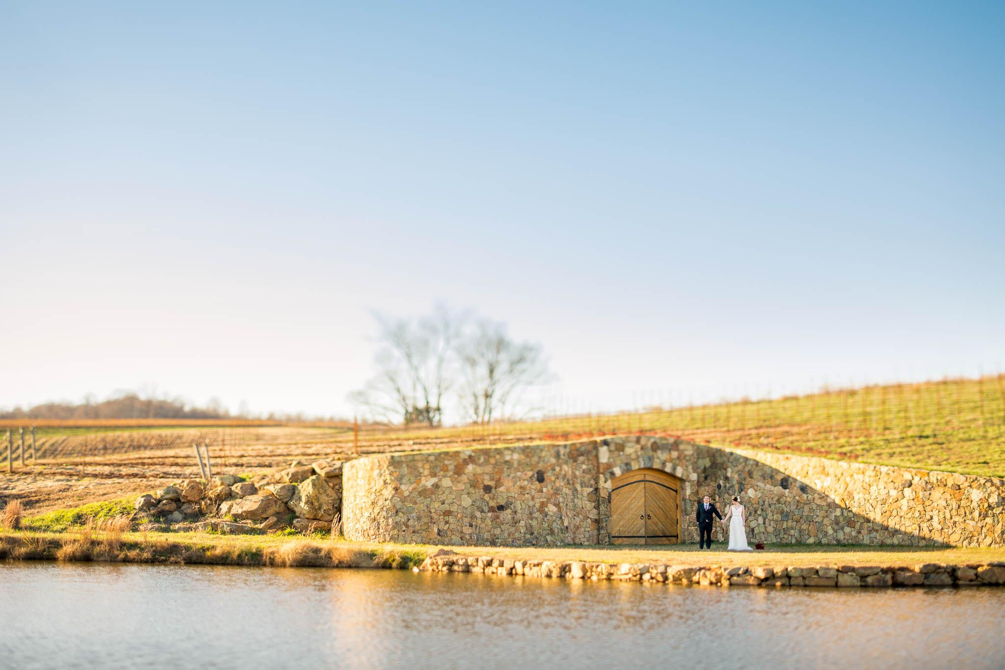 countryside winery wedding