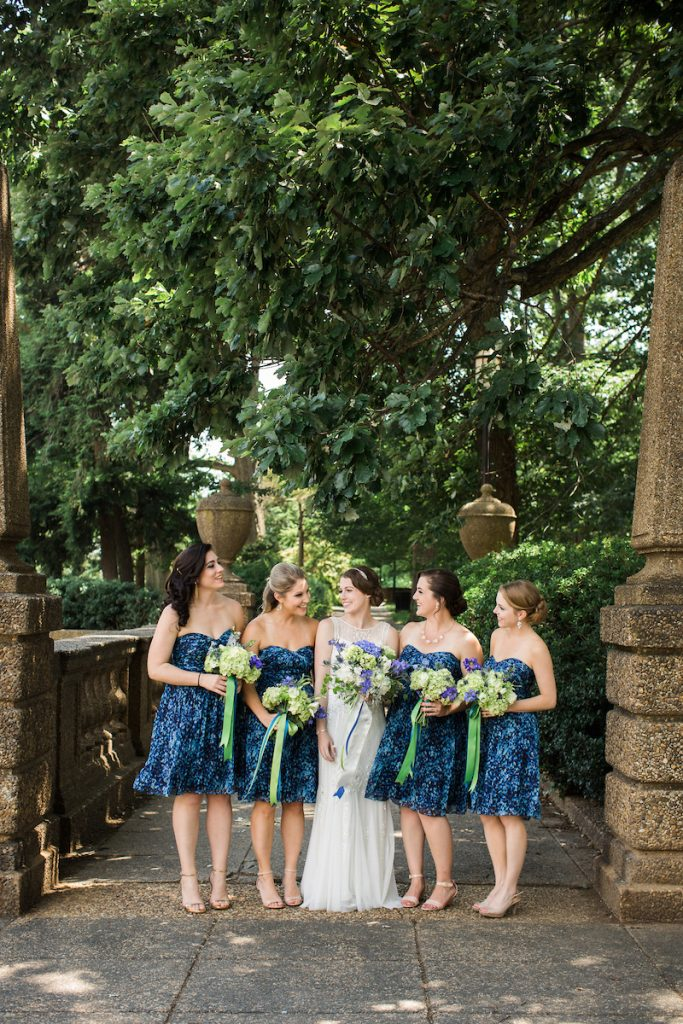 jcrew bridesmaids blue summer