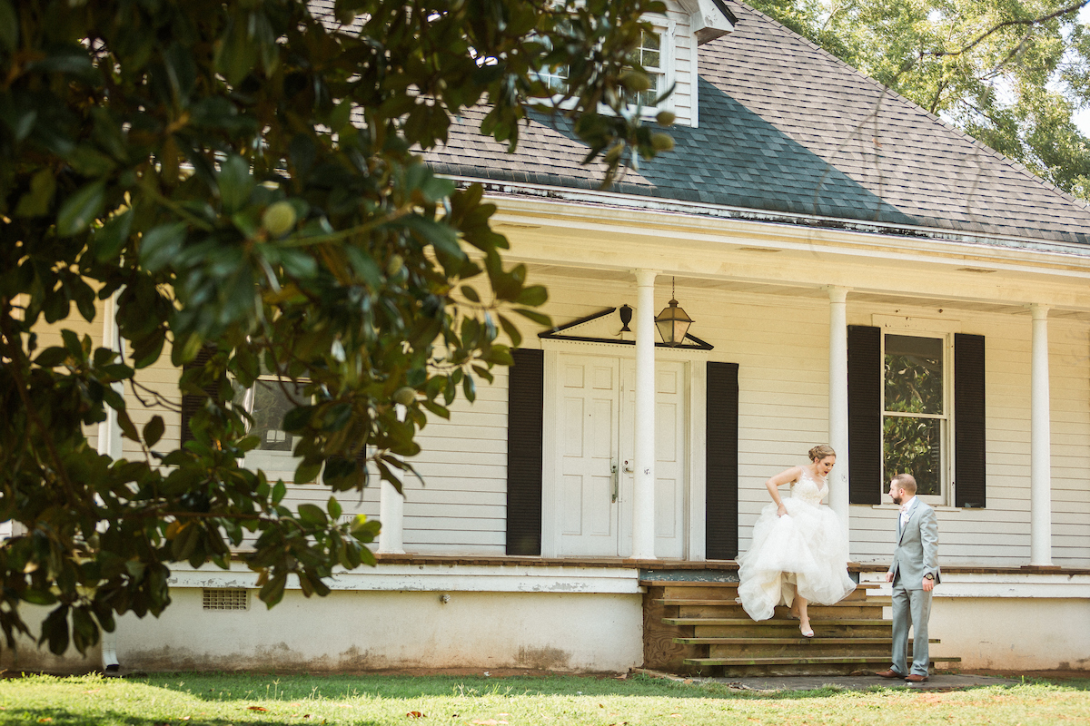 southern country farmhouse wedding