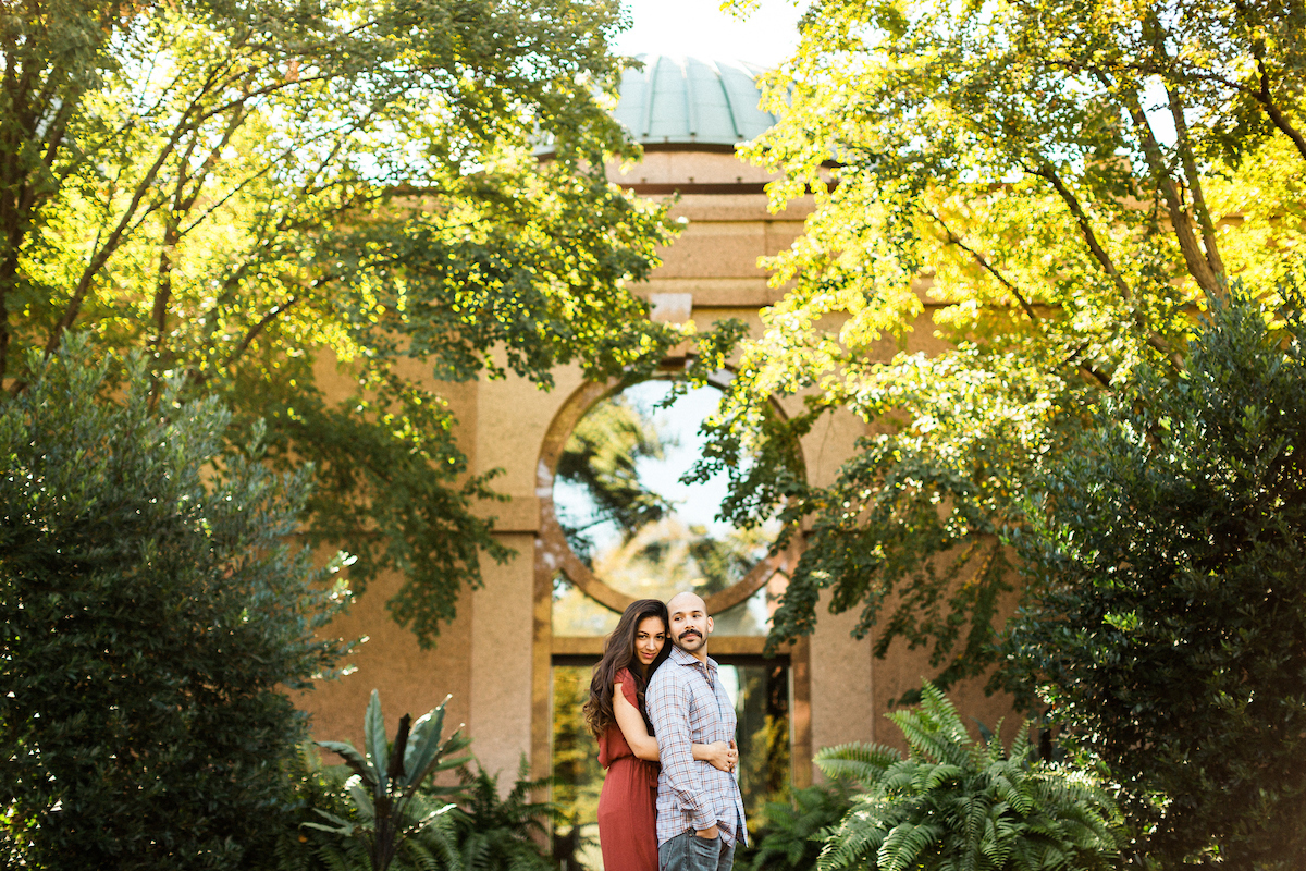 california inspired engagement