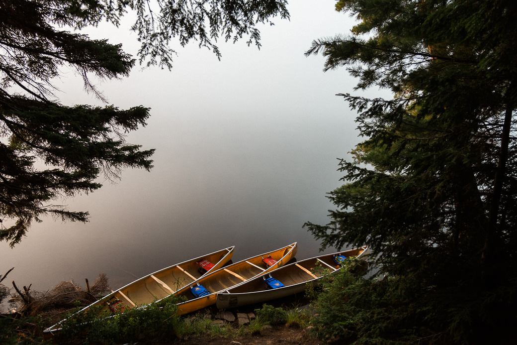 adventure canada canoes lake