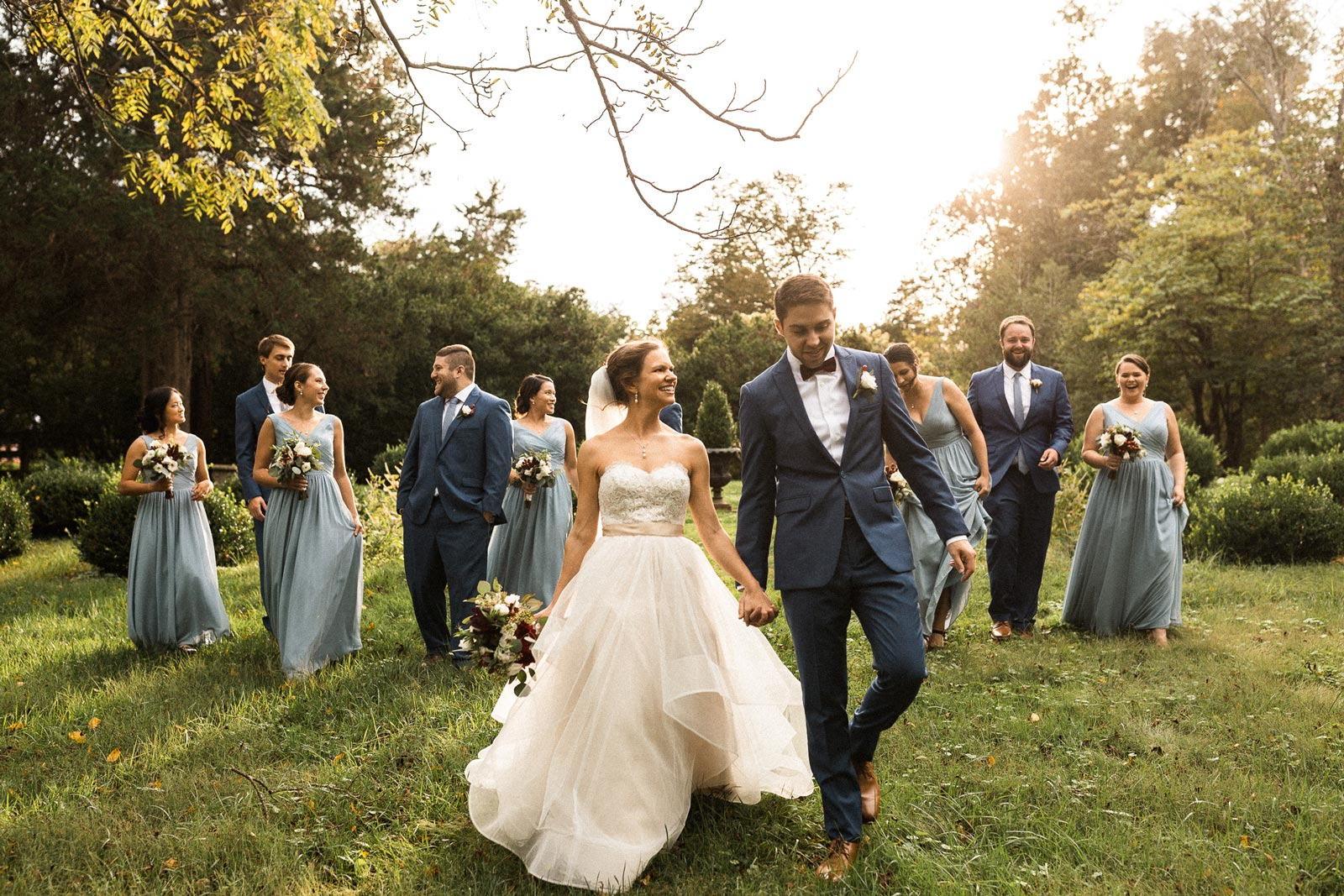 The wedding of Lisa Lockerby and Andrew Workman at Murray Hill in Leesburg, Virginia.