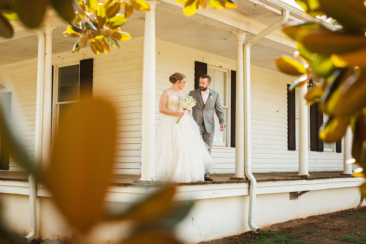 southern magnolia farmhouse wedding