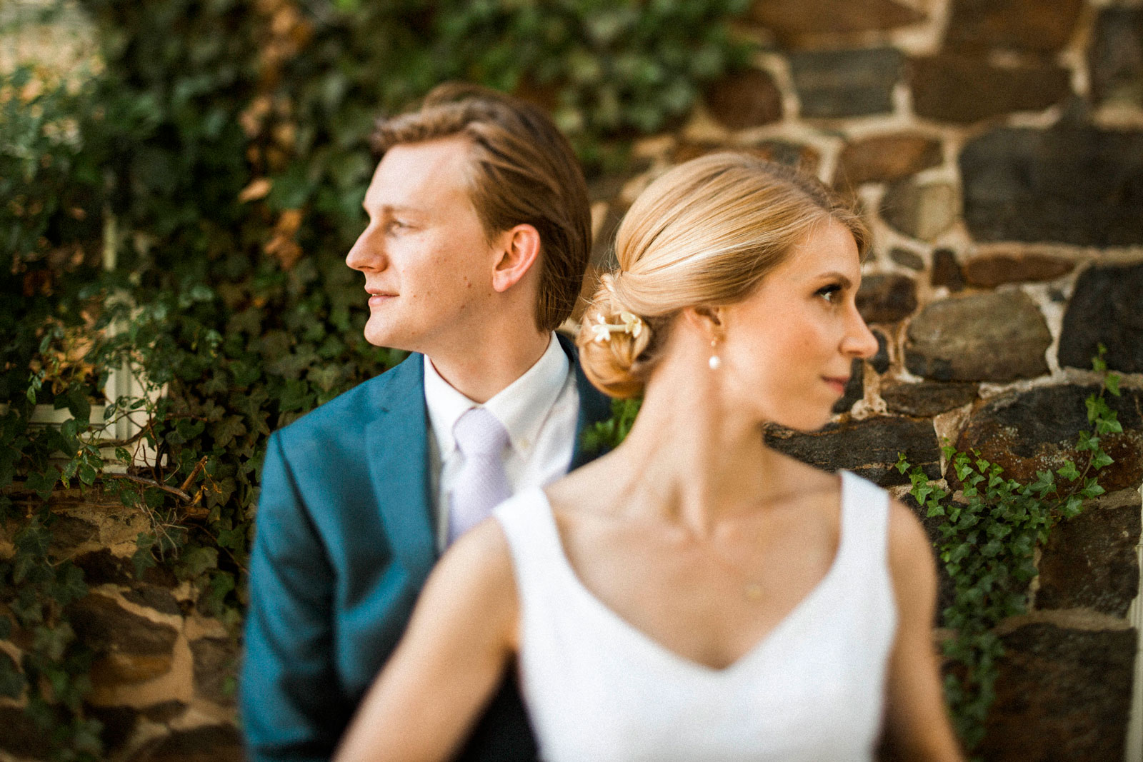 Allison Rogers marries Liam Phibbs at the Goodstay Inn and Gardens at the University of Delaware in Wilmington, Delaware June 10, 2017.
